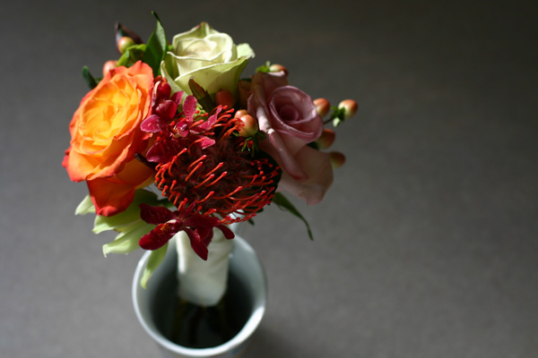 mini test bouquet