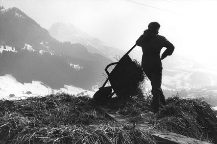 Flendruz, Regione del Vaud - Mostra Con gli occhi della mia infanzia da Mountain Photo Festival.