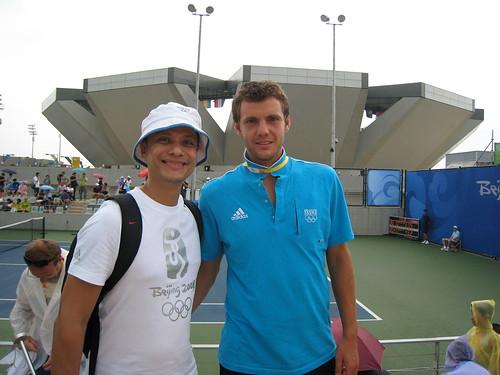 With Paul-Henri Mathieu