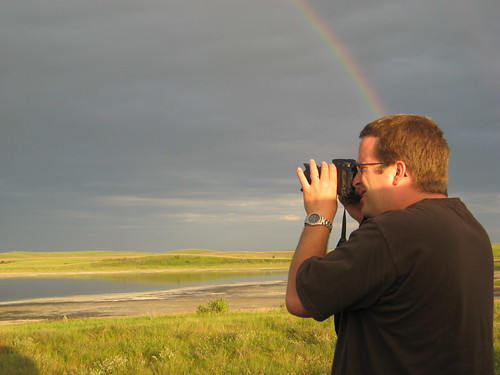 The Marc shoots a rainbow