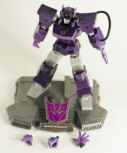 modelo Decepticon Shockwave Transformers