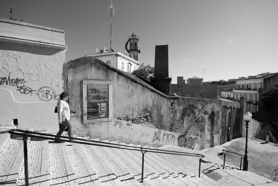 Escadas no Lavra
