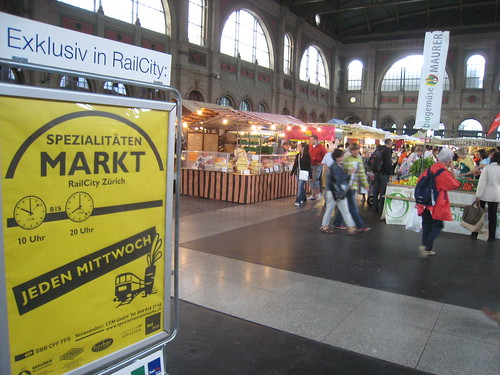 RailCity Markt, Zürich, Switzerland