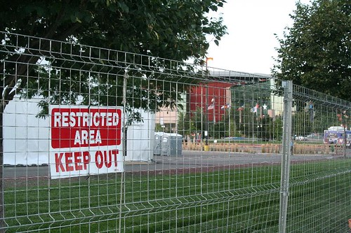 Democracy in Progress: Keep Out