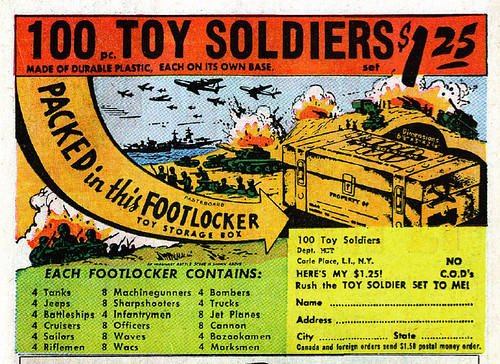 100 Toy Soldiers