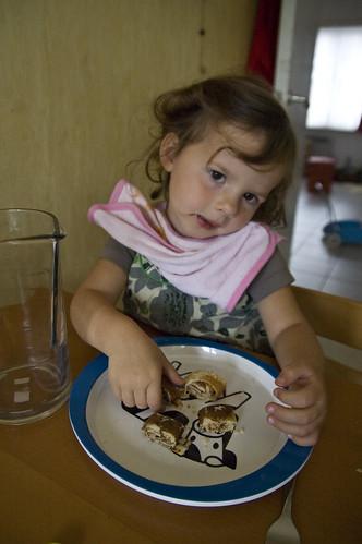 Pannekoeken eten