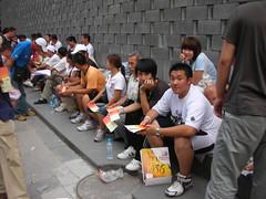 Beijing 2008 13 - Ticket touts (Ben Beiske) Tags: china beijing olympics beijing2008 peking olympicgames