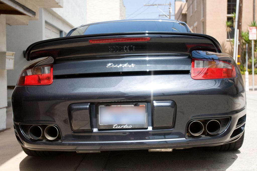 Quot Turbo Quot License Frame 6speedonline Porsche Forum And