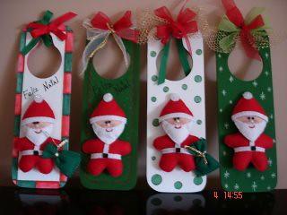 Placas Natal/Noel por nanarteira.