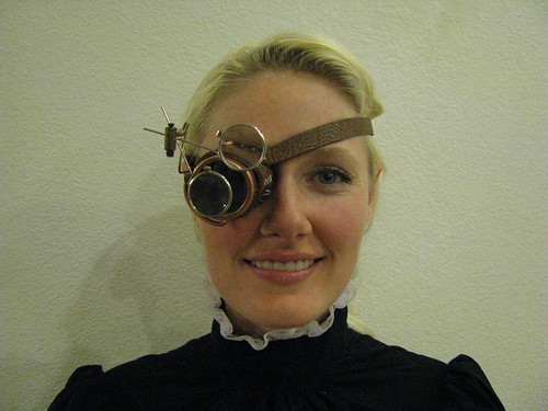 Steampunk Monacle