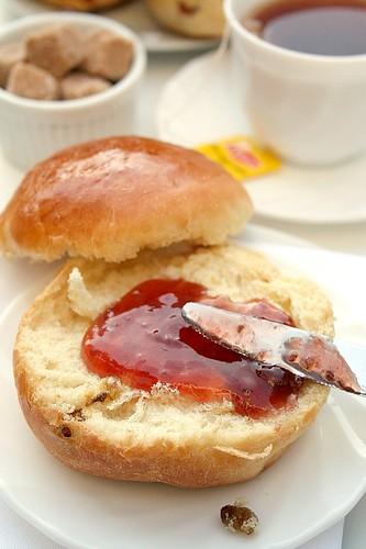 Tea Time: Sally Lunn ou Bath Buns?? -