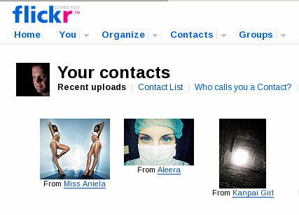 Message in the Flickr-ing light?