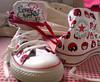 my new monster shoes! (Kickelina) Tags: star all converse cons chucks iwalkthrulifewearingconverse