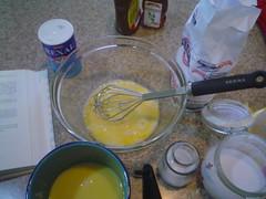 Ingredientes para los hotcakes