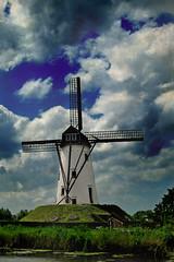 Damme Windmill III (ddupree79) Tags: windmill europe damme beligum