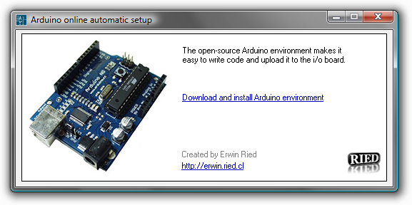Arduino download windows