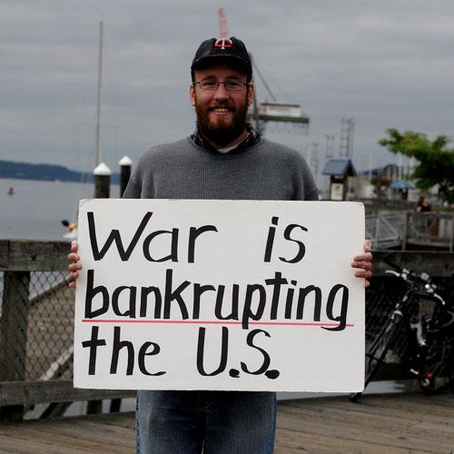 War is Bankrupting the U.S.