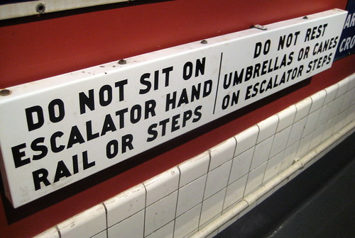 Old Escalator Rules