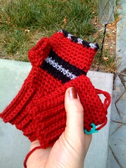 Little fingerless mitts