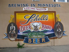Schell's Beer Mural by Bill Diaz