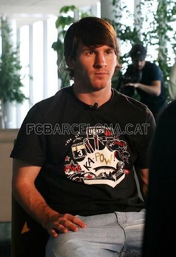 Balon de Oro: Messi.