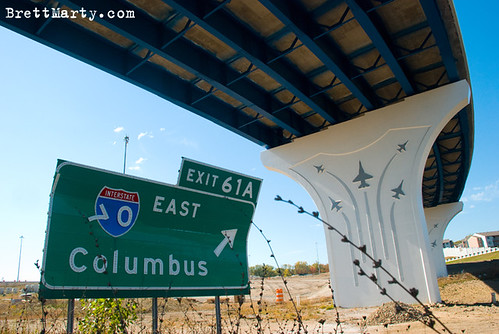 Columbus via 70 - BrettMarty.com