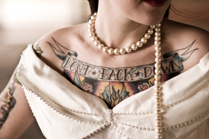 Tattooed Bride Photography