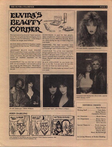 The Elvira Examiner volume III page 2