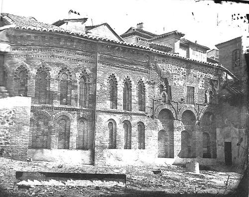 Mezquita del Cristo de la Luz (Toledo), Fotografía Casiano Alguacil, siglo XIX