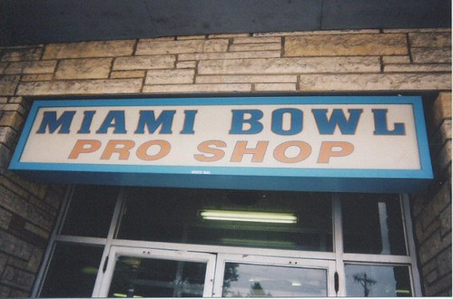 Marzano's Miami Bowl on South Archer Avenue. Chicago Illinois. September 2004. by Eddie from Chicago
