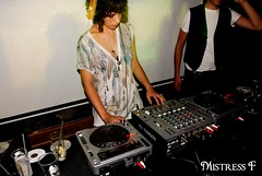 Mira Aroyo djing at fnc (Flavia_FF) Tags: red italy black rome records beer set female club canon dark lights women october italia dj mood tour zoom glasgow live flash goth mixer scottish turntable dresses synth turntables spinning singer indie electro headphones microphone donne british electronica mic synthpop electronic venue 2008 afterparty newwave djing aftershow micstand fishnchips electroclash djbooth glaswegian elettronica electropop vocalists ladytron djset velocifero cantanti nikond200 femalevocalists miraaroyo reubenwu newnewwave drkinking lookincamera lastfm:event=704144 glasvegian bulagarian radiocafroma