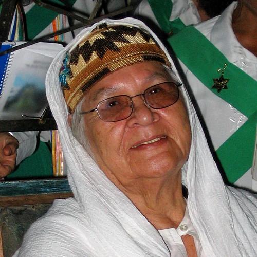 Agnes Baker Pilgrim - Mapia - June 2005