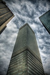 Scraping the Sky (Michel Filion) Tags: sky canada building clouds canon downtown raw montreal michel hdr filion 40d tamronspaf1750mmf28xrdiiildasphericalif mike9alive michelfilion