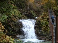吊り橋から三の滝