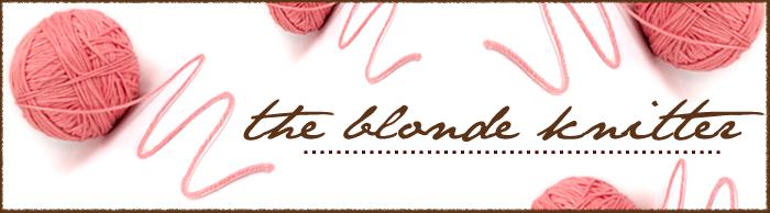 theblondeknitter