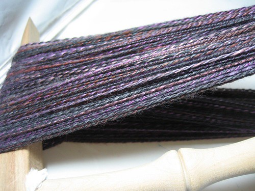 blue moon mulberry silk/superfine merino blend, valkyrie