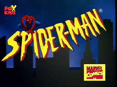 Spider-Man the Animated Series 90s Retro Animated Series Title ABS CBN