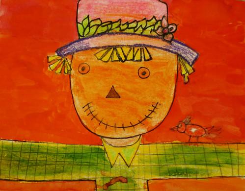 Sherilynn's scarecrow