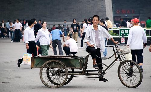 El dormilón pesado y vestigios de grandeza. Xi'an (1)