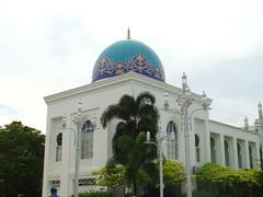 Al-Bukhary Mosque Alor Setar Kedah  (10) (Dato' Professor Dr. Jamaludin Mohaiadin) Tags: architecture muslim islam mosque malaysia dome malaysian prof masjid melayu malay kedah alor setar dato jamaludin minerette albukhary mohaiadin
