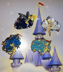 Tinkerbell Dream PIns (partyhare) Tags: castle pin magic tinkerbell pins disney pixie disneyworld wdw waltdisneyworld pintrading disneypin disneypins yomd yearofamillionsdreams