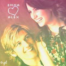Emma & Alex (vplmuse) Tags: boy love girl beautiful smile young actress actor wildchild emmaroberts alexpettyfer