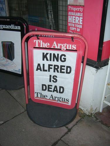 King Alfred is Dead