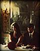 the bride wore black (hanna.bi) Tags: venice wedding red roses black bride couple venezia caffè quadri hannabi infinestyle hourofthesoul novavitanewlife