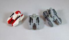 tanks1 (Rogue Bantha) Tags: star tank lego mini saber wars clone tx130