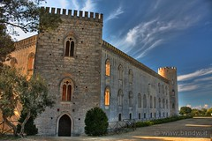 Castello di Donnafugata (RG) - (HDR) (-Bandw-) Tags: bandw bandwit wwwbandwit italia italy landscape sicilia sicily trinacria cielo nuvole clouds sky turismo wallpapers wallpaper flickrsicil