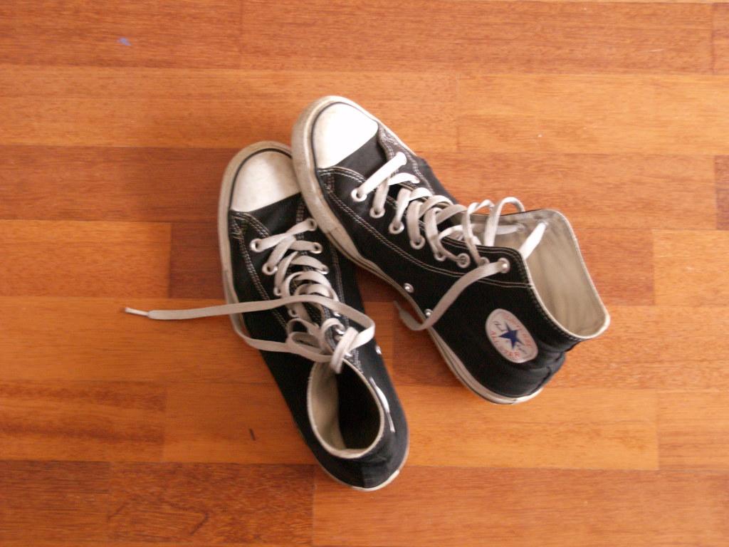 Shoes on Laminate Floor (Shoes, Part 3)