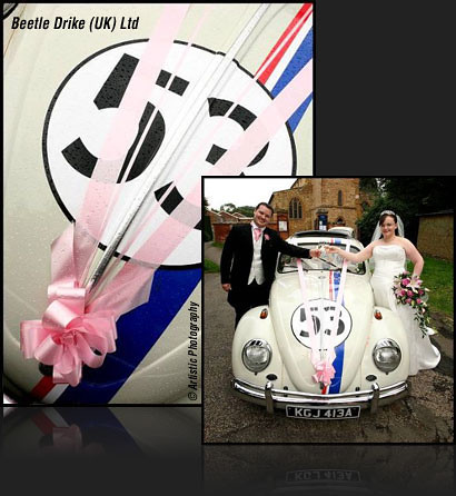 Herbie wedding car hire