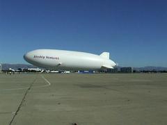 Airship Eureka Departing (ShawnJPro) Tags: zeppelin airship mountainview dirigible moffettfield airshipventures airshipeureka