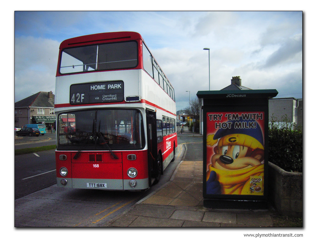Plymouth Citybus 168 TTT168X